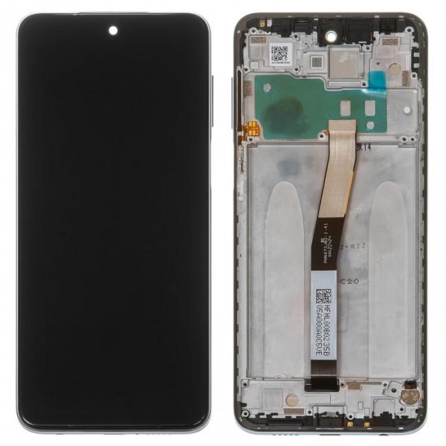 تاچ و ال سی دی شیائومی  رد می نوت 9 اس   LCD XIAOMI REDMI NOTE 9S با فریم اورجینال شرکتی