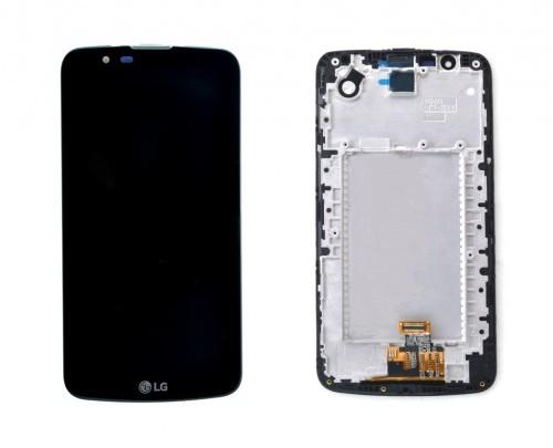 تاچ و ال سی دی ال جی LCD K10 K430  IC کا10 کا430 آی سی دار