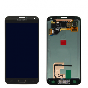 تاچ و ال سی دی lcd  samsung galaxy s5 G900F - i9600 + آموزش تعویض