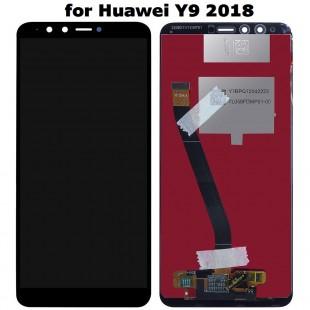 تاچ و ال سی دی هواوی وای 9 2018  lcd huawei y9 2018 FLA-L22 FLA-LX2 FLA-AL00 FLA-LA10