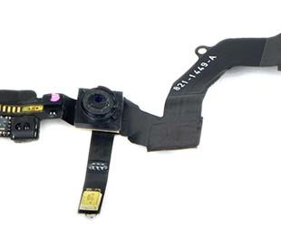 فلت اسپیکر وسنسور تماس و دوربین جلو آیفون 5  Flat speacker & Camera front Iphone 5