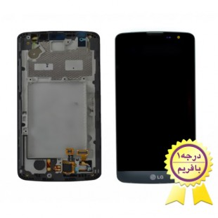 ال سی دی گوشی ال جی ال بلو با فرم LCD LG L Bello D335 with frame