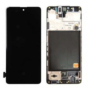 تاچ و ال سی دی سامسونگ آ 51 (4G) | LCD SAMSUNG A51 (4G) - A515 با فریم اورجینال شرکتی