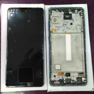 تاچ و ال سی دی اصلی شرکتی سامسونگ آ 52 | Samsung Galaxy A525 - A526