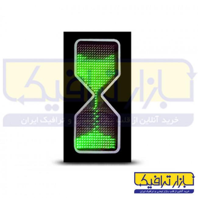 شمارنده ترافیکی ساعت شنی