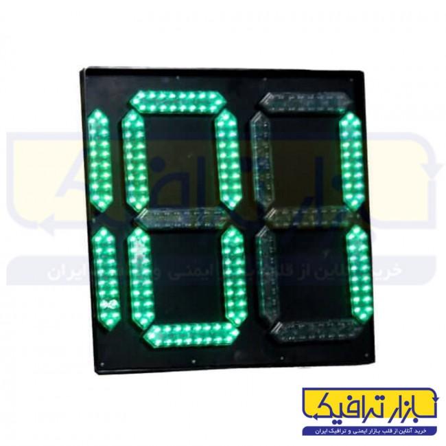 ثانیه شمار چراغ راهنمایی قابل نصب روی پایه