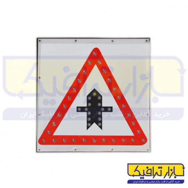 تابلو LED تقاطع راه اصلی و فرعی