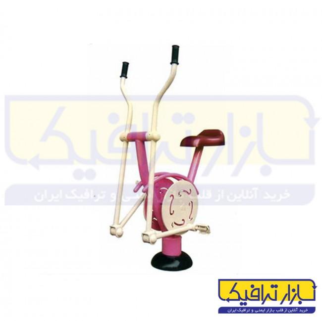 دستگاه بدنسازی پارکی دوچرخه دست و پا