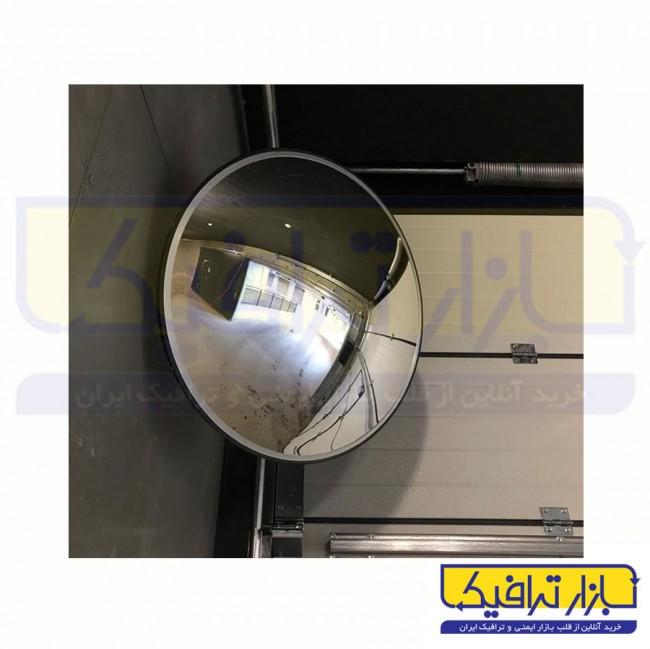 آینه محدب ترافیکی بدون فریم شیشه ای قطر 70