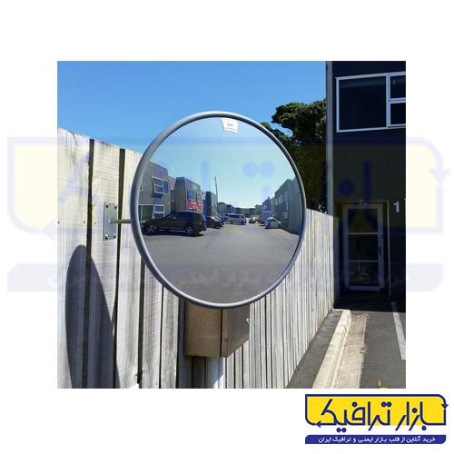 آینه محدب ترافیکی بدون فریم شیشه ای قطر 100