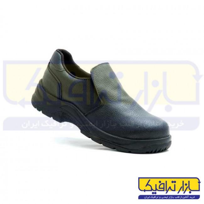 کفش ایمنی ایمن پا مدل بیس بدون بند