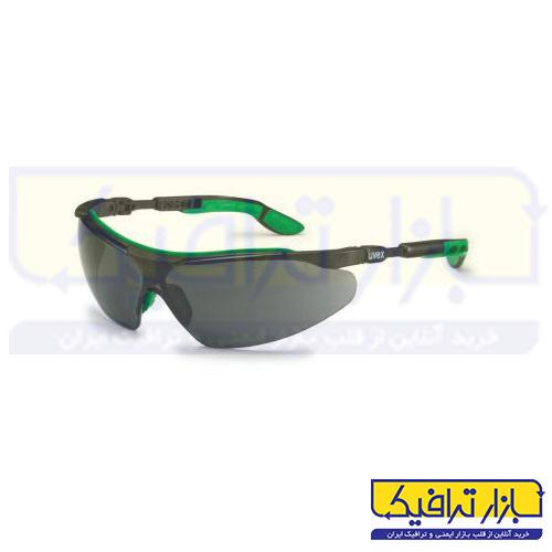 عینک ایمنی جوشکاری uvex مدل I-VO