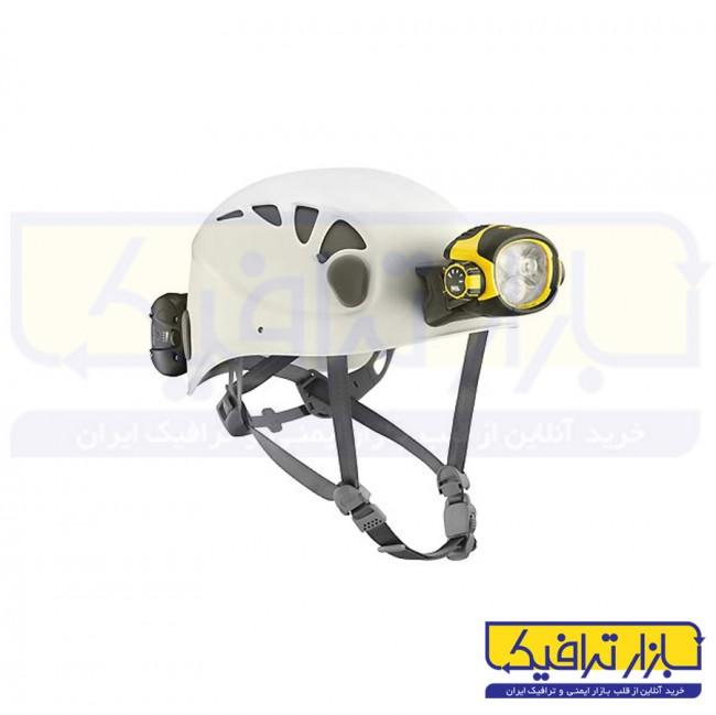 کلاه ایمنی غارنوردی ABS چراغدار
