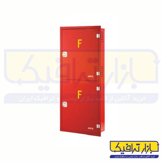 جعبه آتش نشانی توکار دو طبقه 150*60