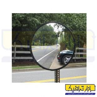 آینه محدب ترافیکی بدون فریم شیشه ای قطر 80
