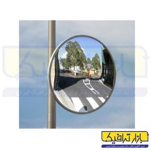 آینه محدب ترافیکی بدون فریم شیشه ای قطر 90