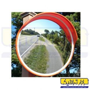 آینه محدب ترافیکی فریم دار شیشه ای قطر 40