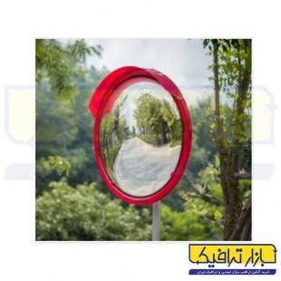 آینه محدب ترافیکی فریم دار شیشه ای قطر 50