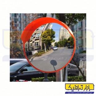 آینه محدب ترافیکی فریم دار شیشه ای قطر 60