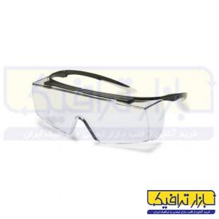 عینک آزمایشگاهی uvex مدل super f OTG