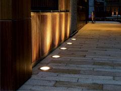 چراغ دفنی LED