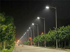 پایه چراغ روشنایی خیابانی
