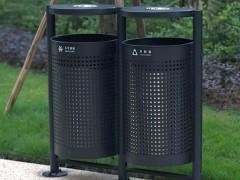 سطل های زباله فلزی پارکی