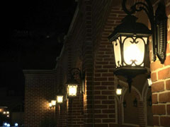 چراغ آویز پارکی
