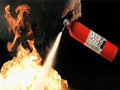 کپسول آتش نشانی پودر و گاز