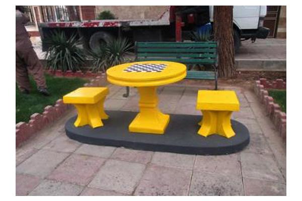 فروشگاه اینترنتی بازار ترافیک-خرید و فروش میز شطرنج بتنی