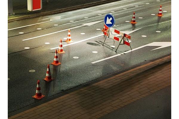 بررسی و خرید کله قندی ترافیکی حلقه دار یک متری-فروشگاه اینترنتی بازار ترافیک