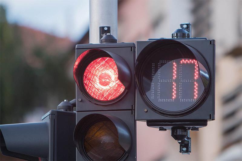 فروشگاه اینترنتی بازارترافیک - بررسی و خرید ثانیه شمار چراغ راهنمایی