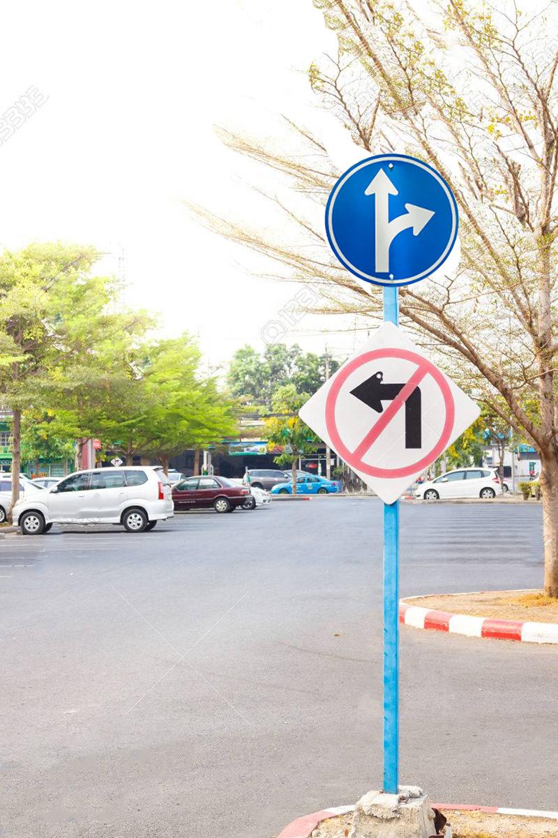 فروشگاه اینترنتی بازار ترافیک-خرید و فروش تابلو عبور مستقیم و گردش به راست مجاز