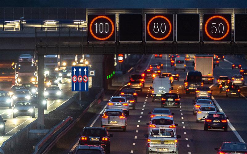 فروشگاه اينترنتي بازار ترافيك-خريد و فروش تابلو حداكثر سرعت 40*100