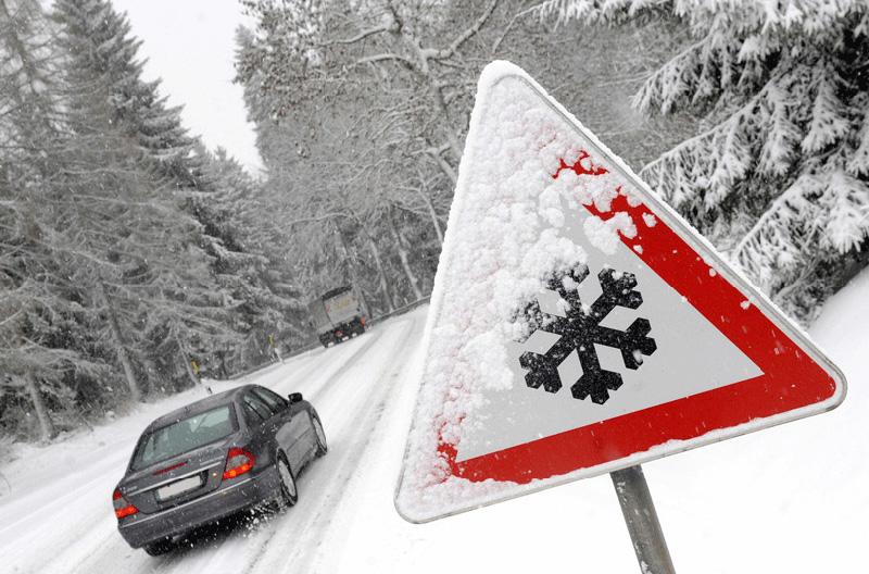فروشگاه اینترنتی بازار ترافیک-خرید و فروش تابلو خطر برف و یخ