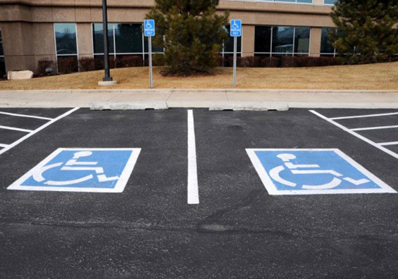 فروشگاه اینترنتی بازار ترافیک-خرید و فروش تابلو پارکینگ ویژه معلولین