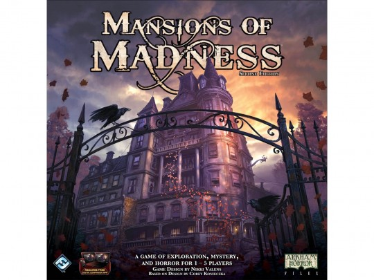 Mansions Of Madness: 2nd Edition ( عمارت دیوانگی: ویرایش دوم )