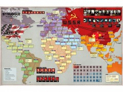 نقشه بازی Twilight Struggle ( گرگ و میش )
