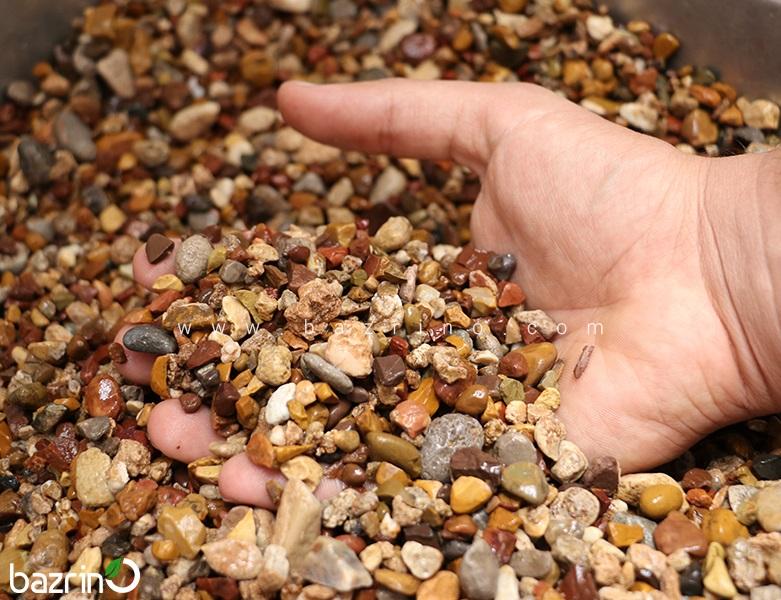 سنگ ریزه رنگی (زهکش)