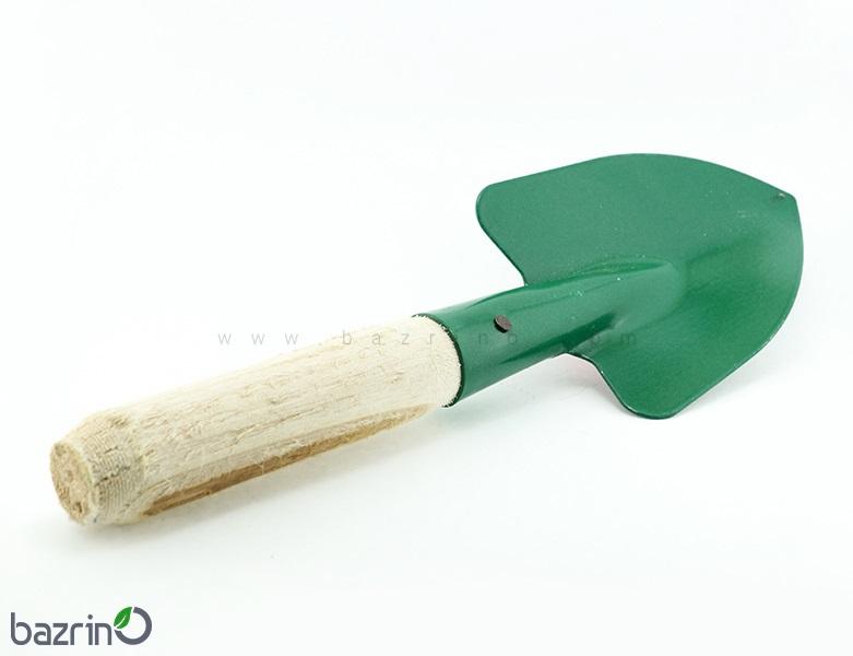 بیلچه دسته چوبی