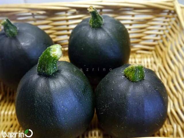 بذر کدو خورشتی گرد سیاه