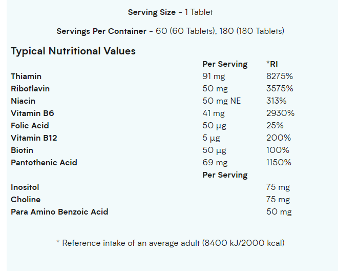 ویتامین ب پلاس مای پروتئین