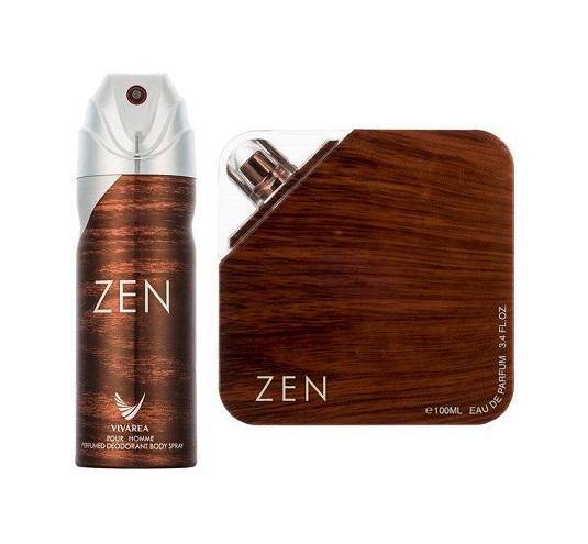 ست ادو پرفیوم مردانه امپر مدل Zen حجم 100 میلی لیتر به همراه اسپری مردانه مدل Zen حجم 200 میلی لیتر