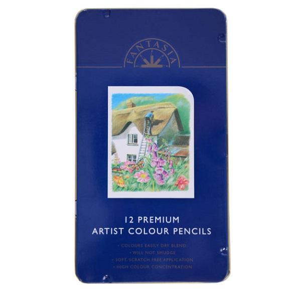 مداد رنگی ۱۲ رنگ فانتاسیا مدل Artist D-4236