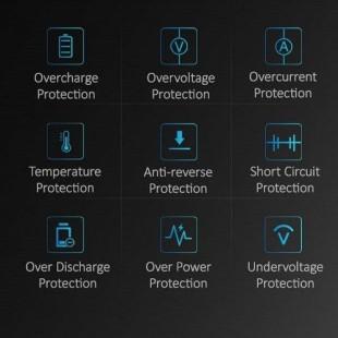 پاور بانک یوسمز مدلpower bank PB9 Mini با ظرفیت 10000میلی آمپر ساعت