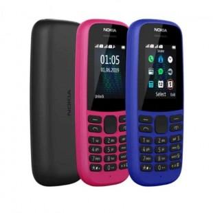 گوشی موبایل نوکیا مدل 105 - 2019 TA-1174 DS دو سیم کارت