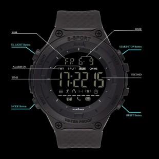 ساعت مچی دیجیتال مردانه پیائوما مدل SS-CRV