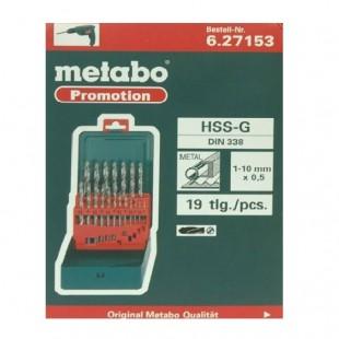 مجموعه 19 عددی مته متابو مدل 627153