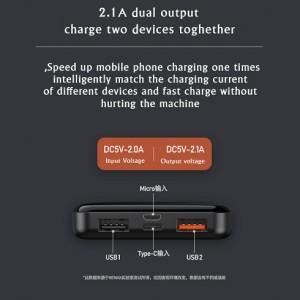 شارژر همراه ریمکس مدل Jany ظرفیت 10000 میلی آمپر ساعت