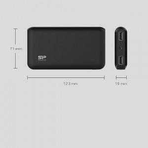 شارژر همراه سیلیکون پاور مدل S100 ظرفیت 10000 میلی آمپر ساعت